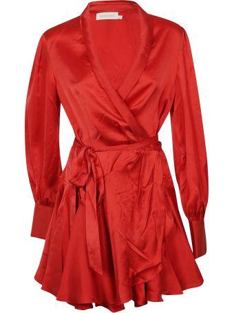 Zimmermann Short Wrap Dress