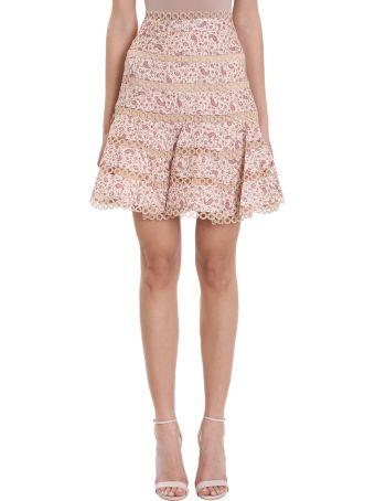 Zimmermann Juniper Contoured Circle Skirt