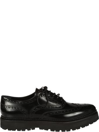 Church's Black Leather Laced Up
