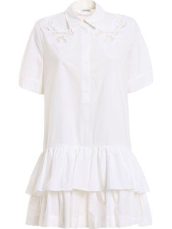 Parosh P.a.r.o.s.h. Lace Shirt Dress