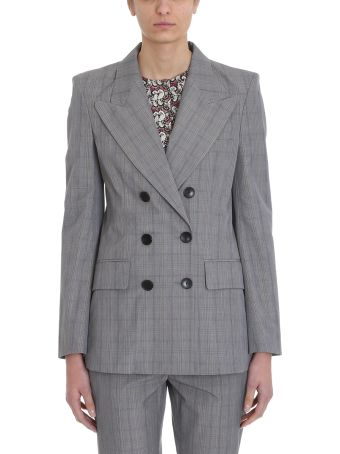 Isabel Marant Étoile Iliane Checked Cotton-twill Blazer