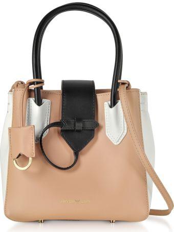 Emporio Armani Color Block Satchel Bag