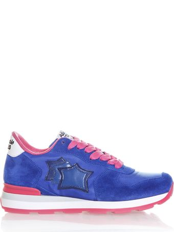 Atlantic Stars Vega Suede & Nylon Sneakers