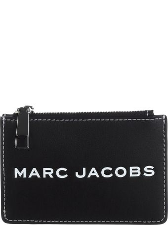 Marc Jacobs Logo Zipped Wallet