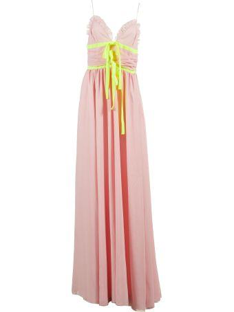 Brognano Pleated Detail Dress