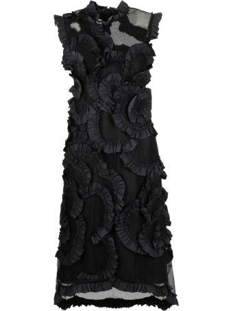 Moncler Genius Ruffled Midi Dress