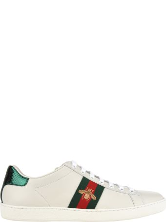 Gucci Ace Embroidered Bee Sneakers