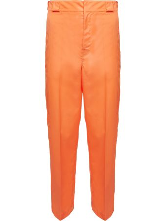 Prada Linea Rossa Tailored Cropped Trousers