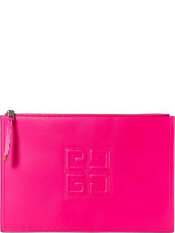 Givenchy 4g Logo Clutch