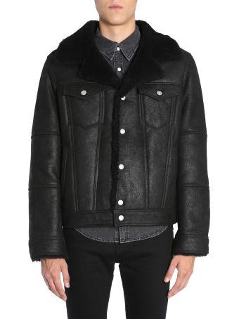 Diesel Black Gold Lordy Leather Jacket