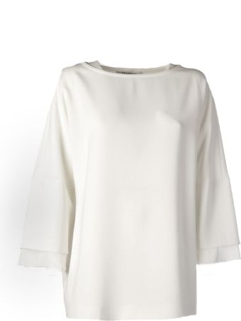 Max Mara Cropped Sleeved Blouse
