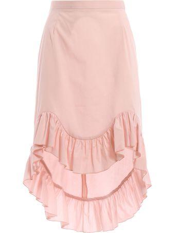 Blugirl Ruffled Hem Skirt