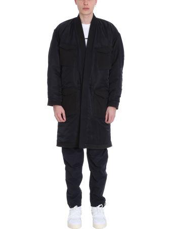 Maharishi Black Fabric Coat