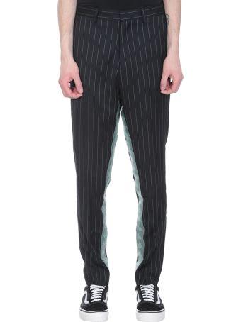 Danilo Paura x Kappa Black Wool Pants
