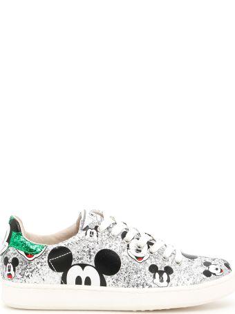 M.O.A. master of arts Glitter Disney Sneakers