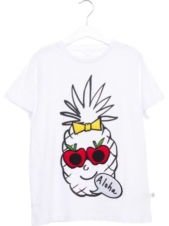 Stella McCartney Pinapple Funny Face Tee