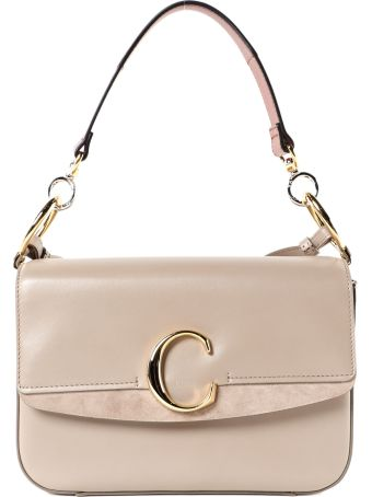 Chloé C Double Shoulder Bag