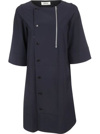 Zucca One-sided Button Dress
