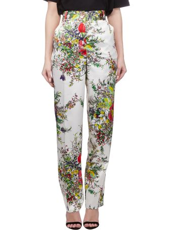 Blumarine Floral Trousers