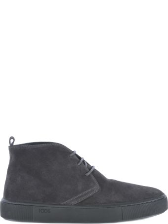 Tod's Polacco Cassetta Ankle Boots