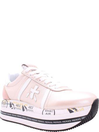 Premiata Beth 4519 Leather Sneakers