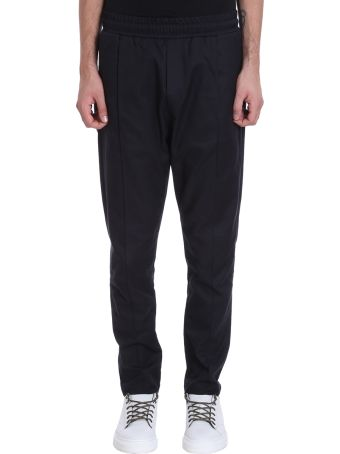 Low Brand Bleu Cotton Pants