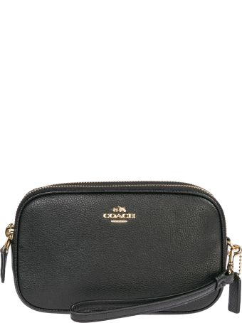 Coach  Leather Cross-body Messenger Shoulder Bag Sadie
