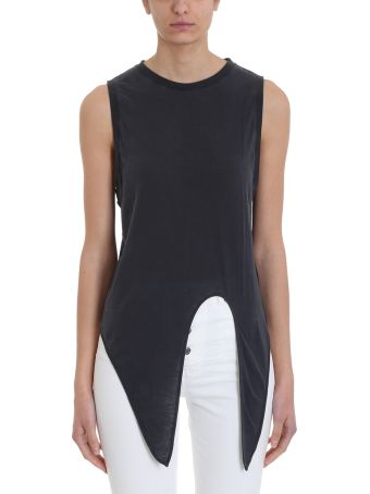 IRO Impish Tie-front Sleeveless Top