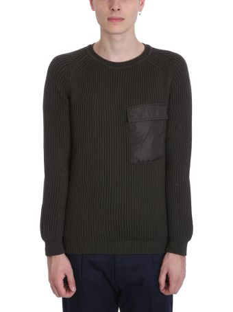 Low Brand Green Wool Sweater