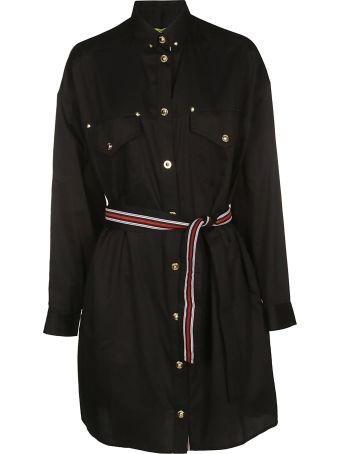 Versace Belted Dress
