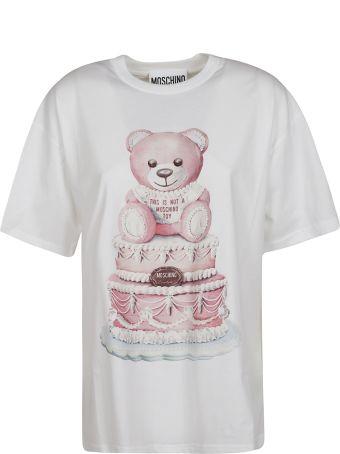 Moschino Mid Bear Cake T-shirt