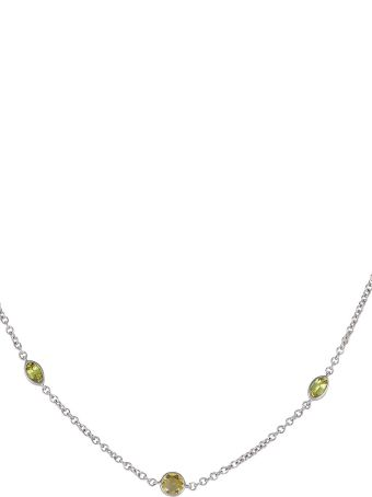 Lo Spazio Jewelry Lo Spazio Yellow Sapphire and Diamond Necklace