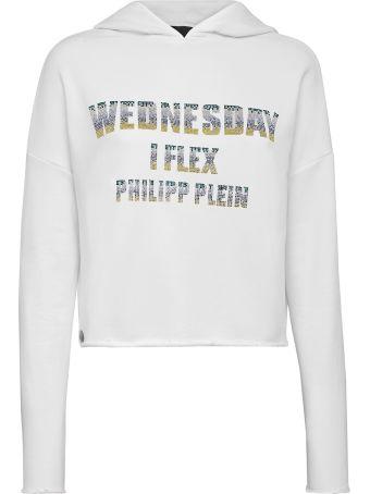 Philipp Plein White Sweatshirt