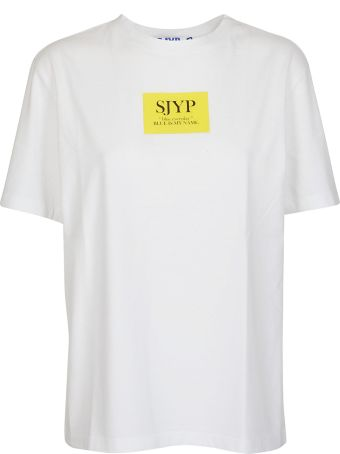 SJYP Logo Print T-shirt