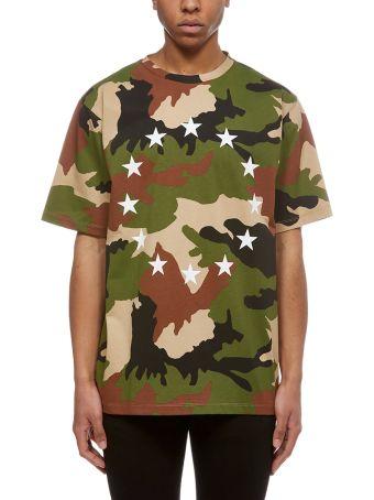Études Camouflage Print T-shirt
