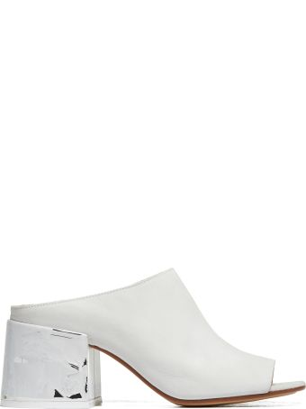 MM6 Maison Margiela Painted Heel Mules