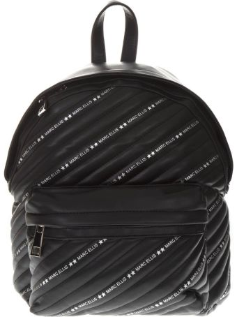 Marc Ellis Marc Ellis Black Faux Leather Backpack
