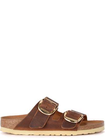Birkenstock Arizona Big Buckle Brown Sandal - Premium