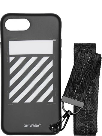Off-White Iphone 8 Diag Strap Case