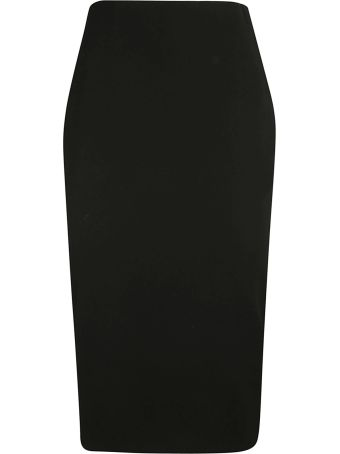 Victoria Beckham Back Long Zipped Skirt