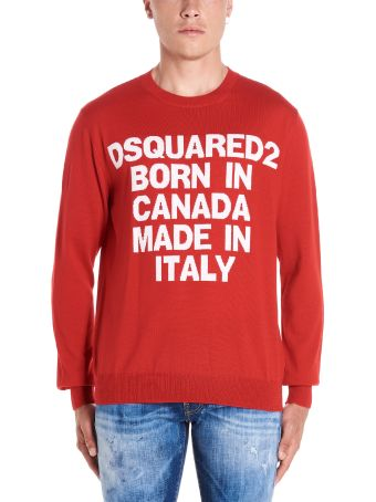 Dsquared2 'dsquared2 Born In Canada Made In Italy' Sweater