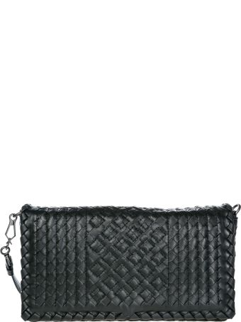Bottega Veneta  Leather Cross-body Messenger Shoulder Bag