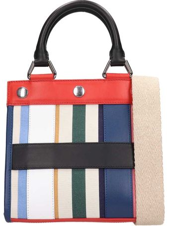 Sonia Rykiel Multicolor Leather Pm Cindy Tote Bag