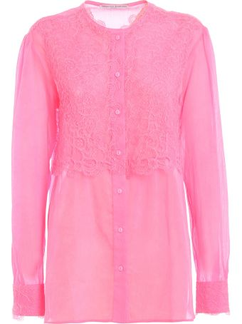 Ermanno Scervino Lace Panel Blouse