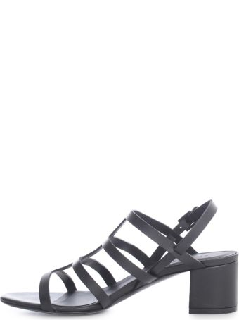 Del Carlo Sandals W/symmetrical Laces