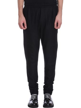 Low Brand Black/grey Wool Pants