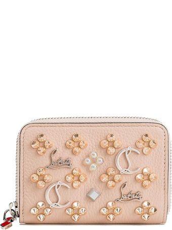 Christian Louboutin Ballerina/multi Leather Wallet