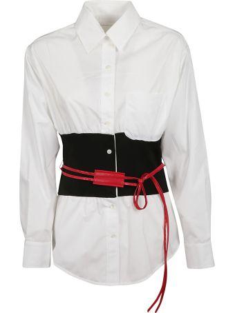 Victoria Beckham Belted Shirt
