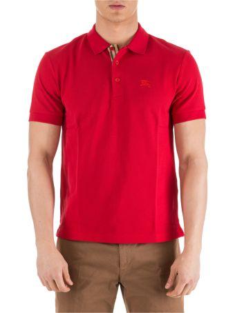 Burberry  Short Sleeve T-shirt Polo Collar