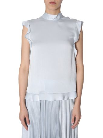 RED Valentino Ruched Trim Top